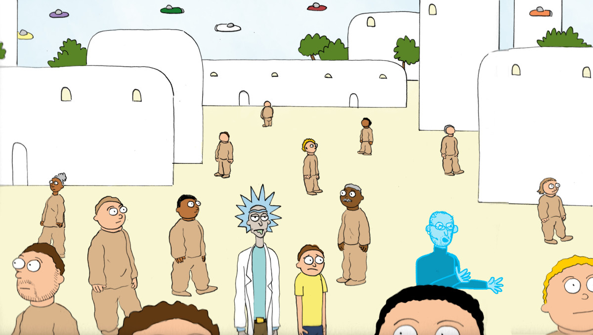 I Wrote the Script for Kanye West's 'Rick and Morty' Episode