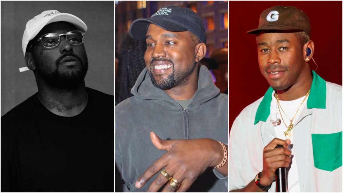 ScHoolboy Q, Kanye West, Tyler, The Creator