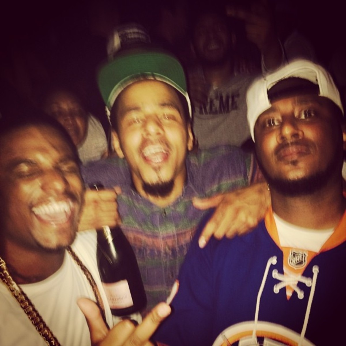 J. Cole drunk in 2014