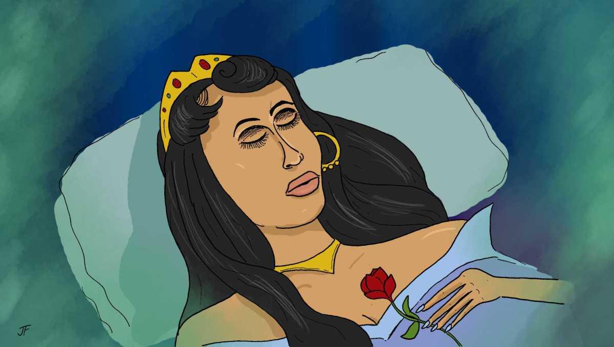 Cardi B as Sleeping Beauty, 2019