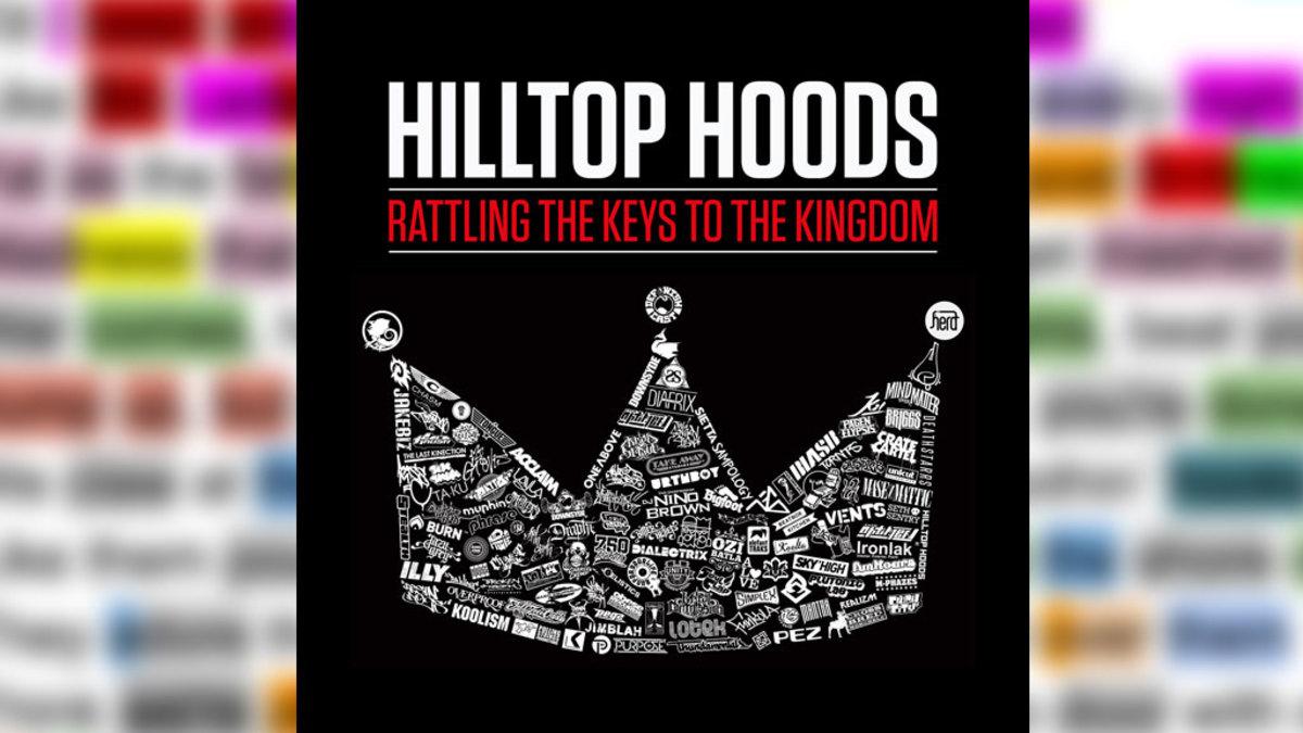 "Hilltop Hood's Rhyme Scheme on ""Rattling The Keys To The Kingdom"""