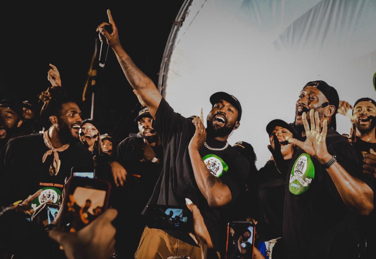 Kanye West Sunday Service in Kingston, 2019