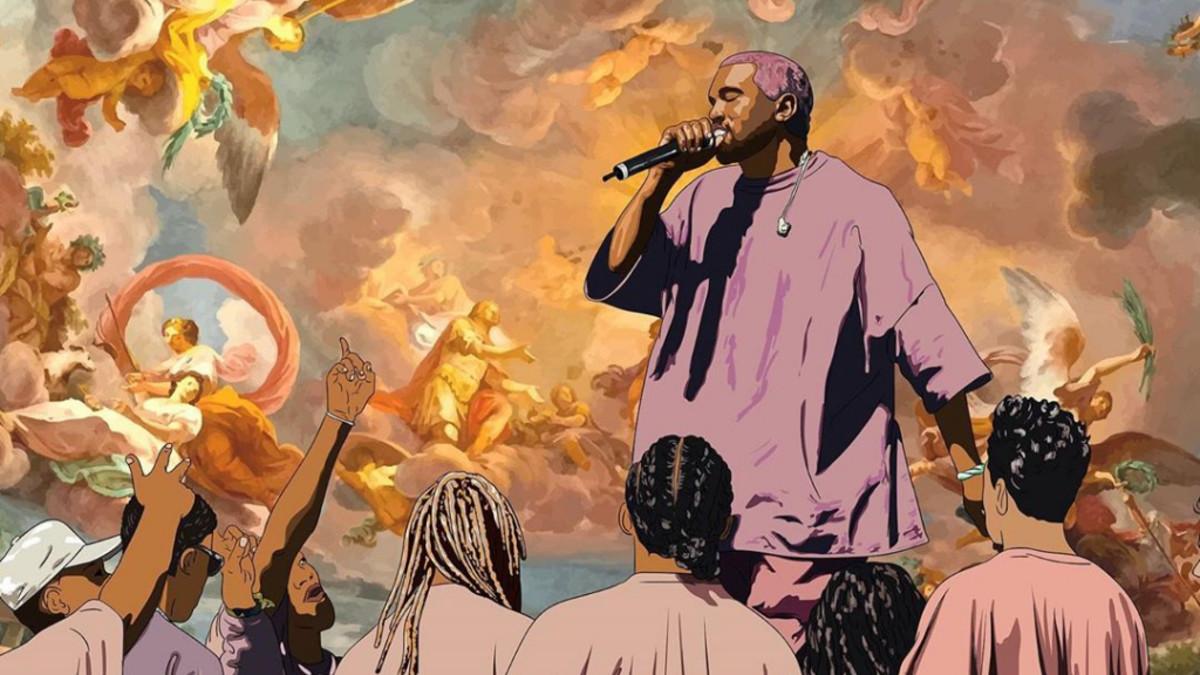 Kanye West Jesus Is King artwork
