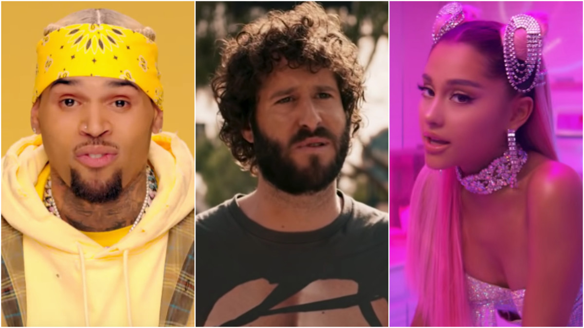 Worst Songs of 2019, Chris Brown, Lil Dicky, Arianna Grande