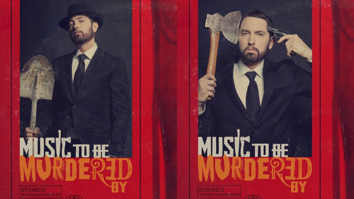 Eminem Releases Surprise Brand New Album, 'Music To Be Murdered By'