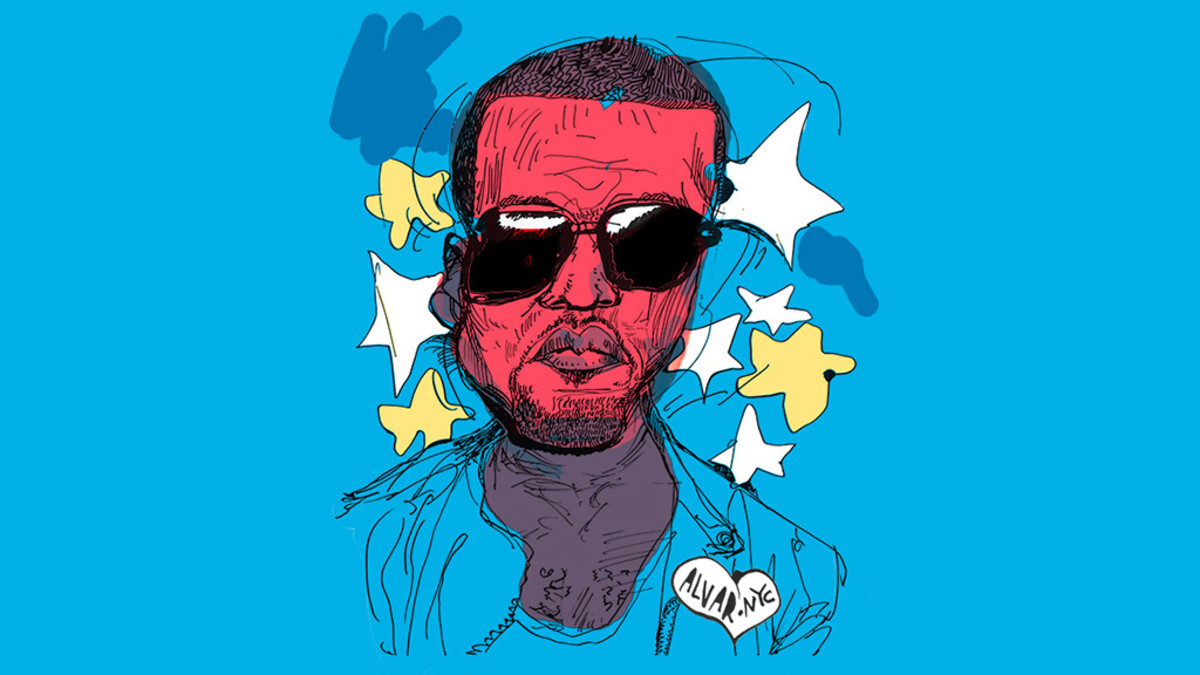 Kanye West art.