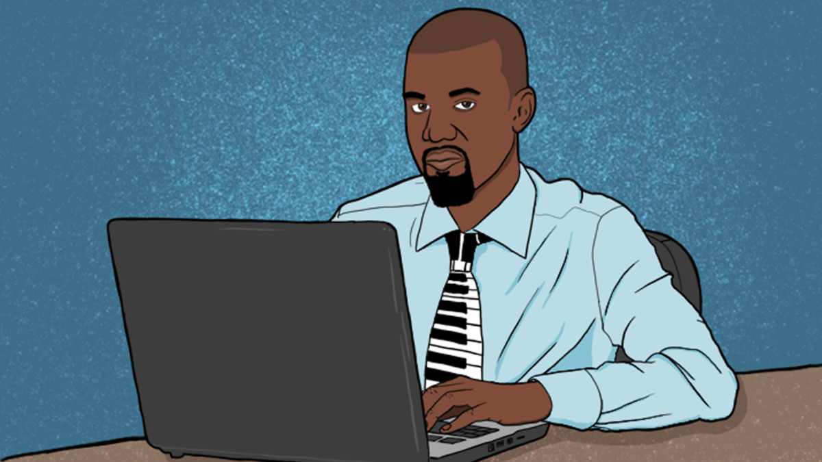 Kanye West's sex laptop