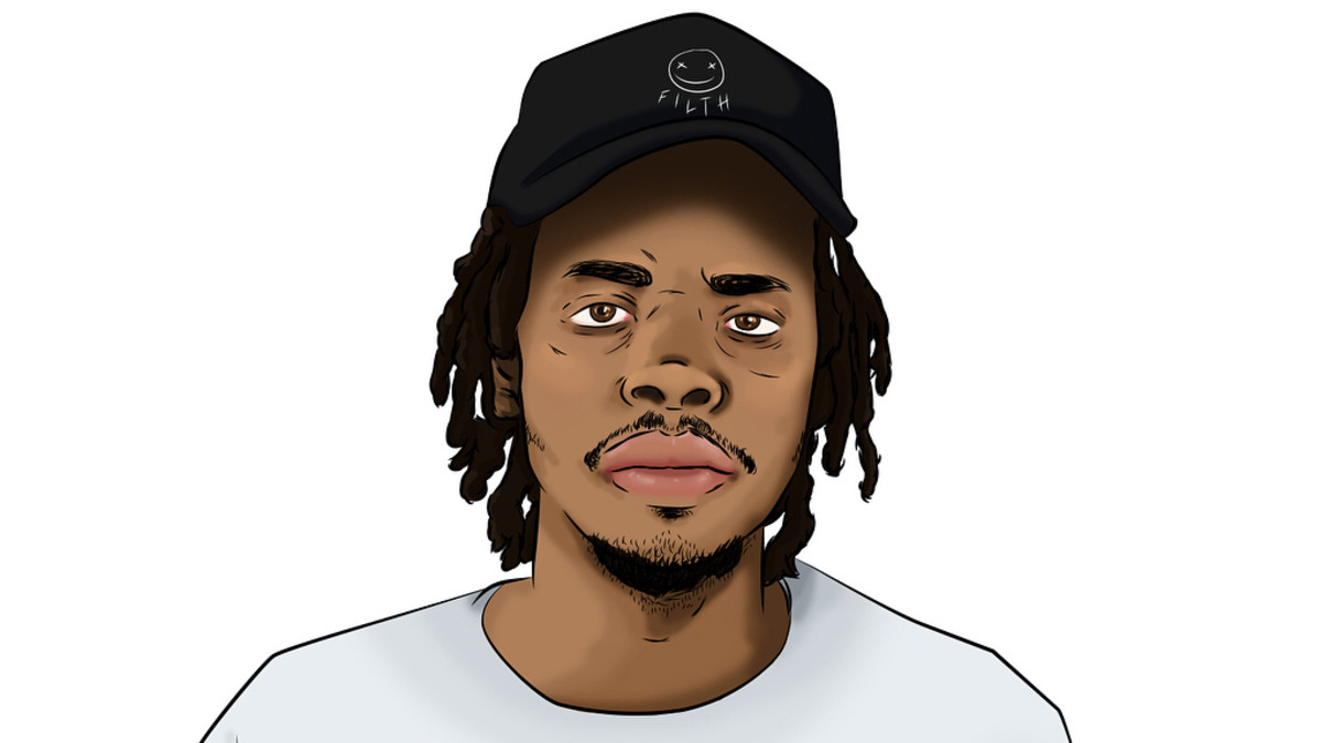 Earl Sweatshirt illustration, 2018