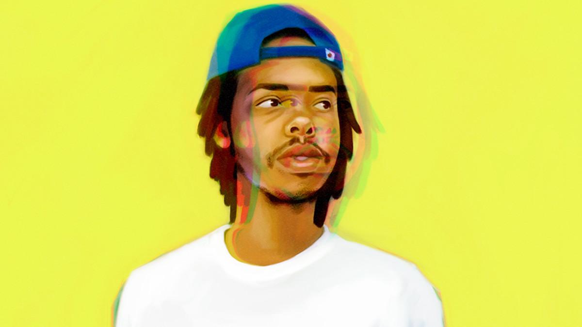 Earl Sweatshirt artwork by Sofia Moustahfid