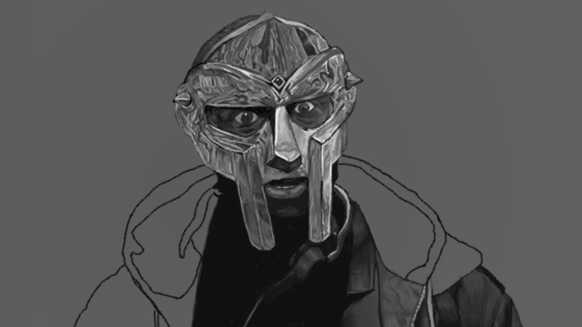 MF DOOM artwork by Noah Ellison
