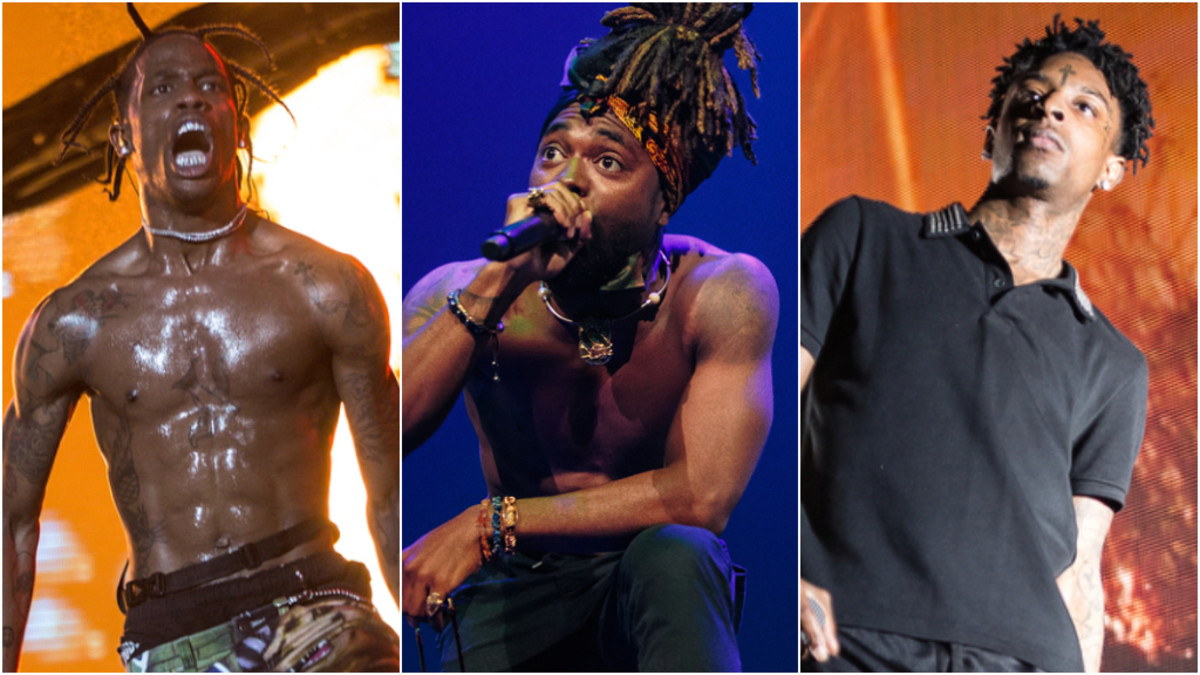 Travis Scott, EarthGang, 21 Savage, 2019