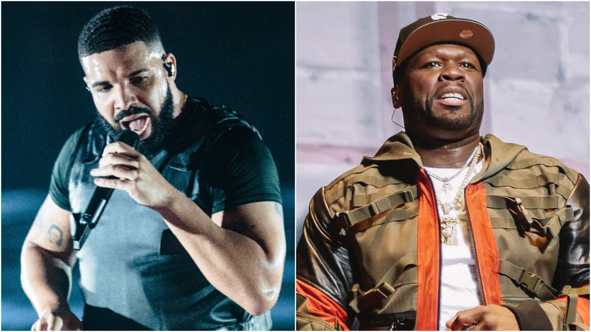 """Drake """"Reboots"""" His Career Through Features, 50 Cent Says"""