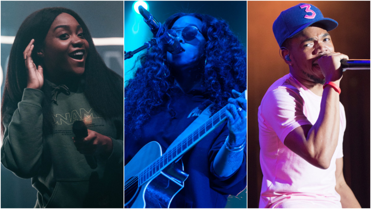 Noname, H.E.R., Chance The Rapper, 2019