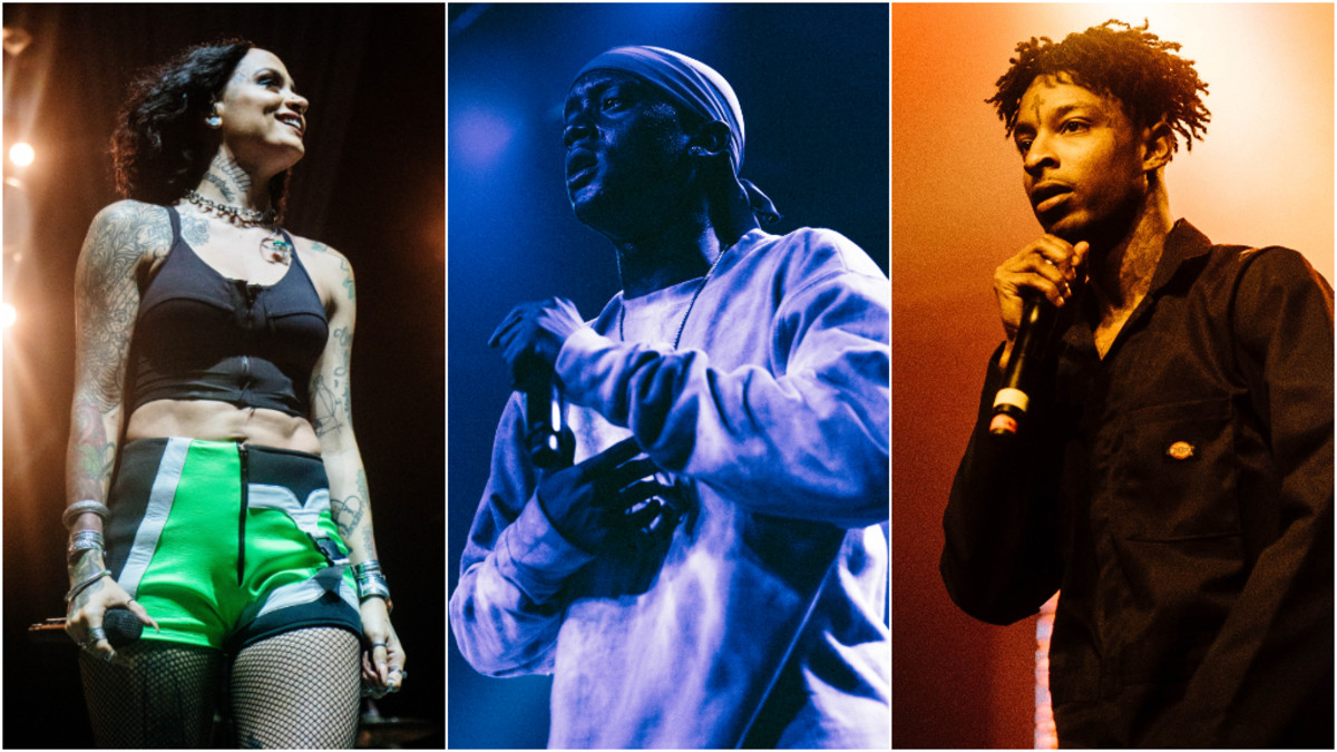 Kehlani, Buddy, 21 Savage, 2019