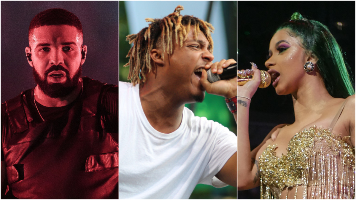 Drake, Juice WRLD, Cardi B & More: Hip-Hop Headlines