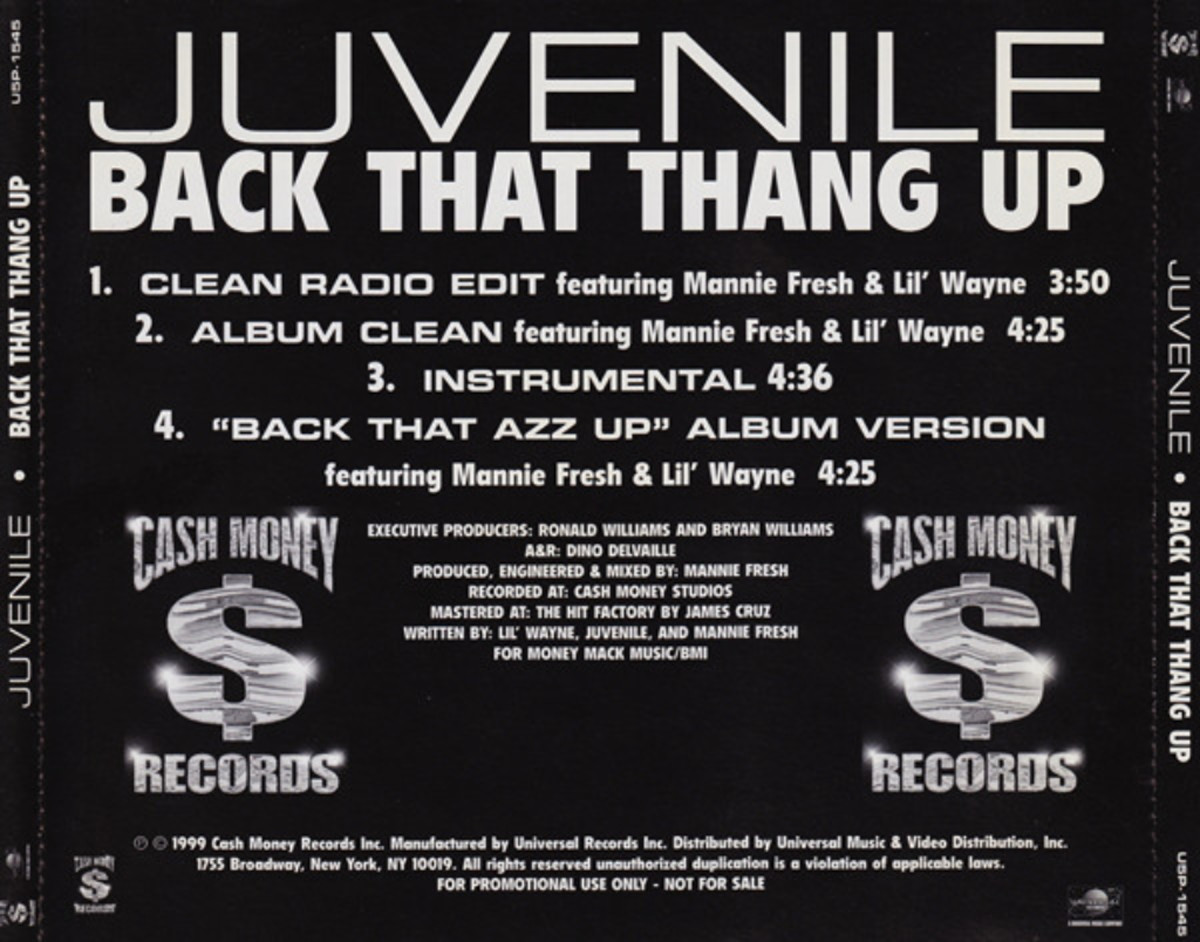 """How Lil Wayne Ended Up on Juvenile's """"Back That Azz Up"""""""