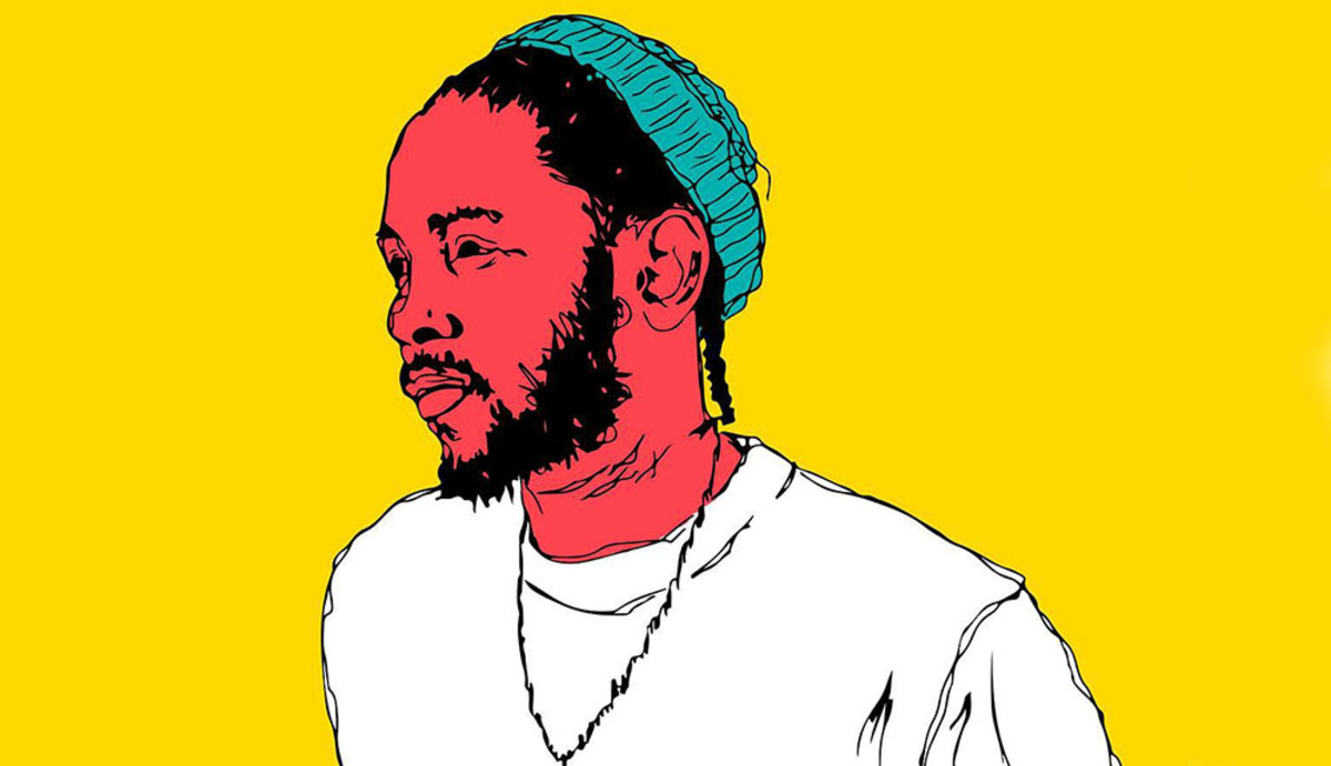 Kendrick Lamar, art, illustration
