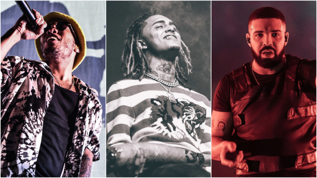Anderson .Paak, Lil Pump, Drake, 2019