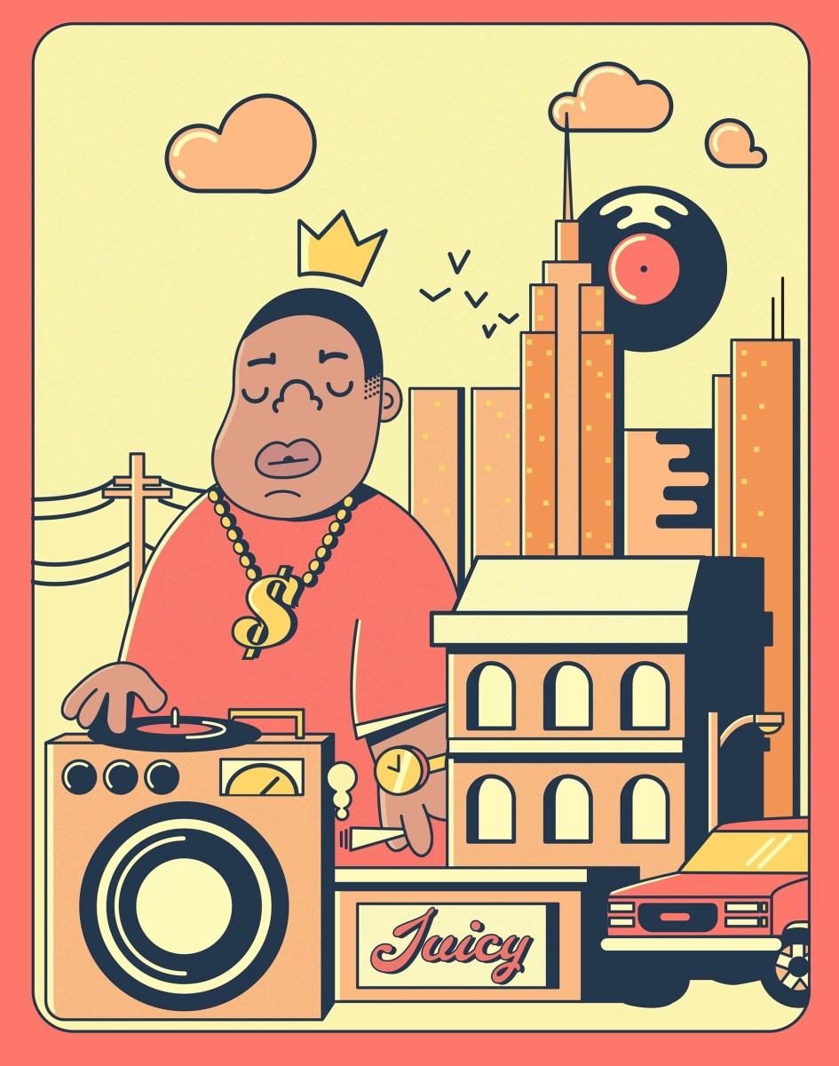 Biggie artwork, 2019