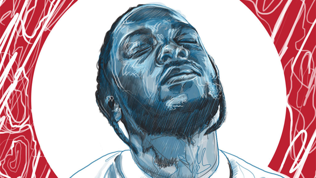 Kendrick Lamar art by Elli Paananen