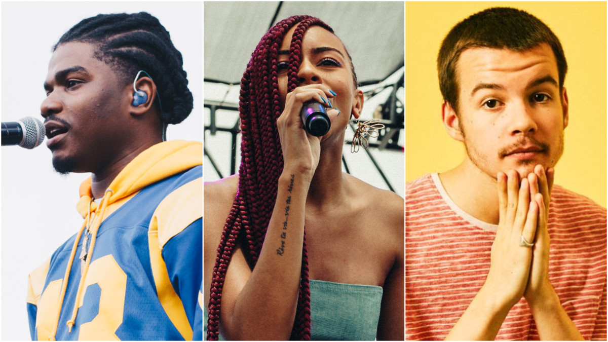 Smino, Ravyn Lenae, Rex Orange Country, 2019