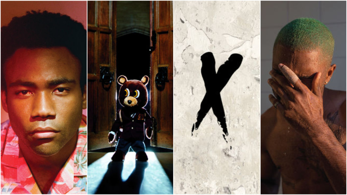 Childish Gambino, Kanye West, NxWorries, Frank Ocean