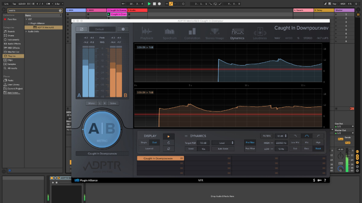 Plugin Alliance ADPTR Metric A/B: Review - DJBooth
