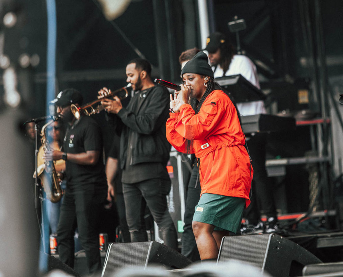 Rapsody at Dreamville Fest, 2019