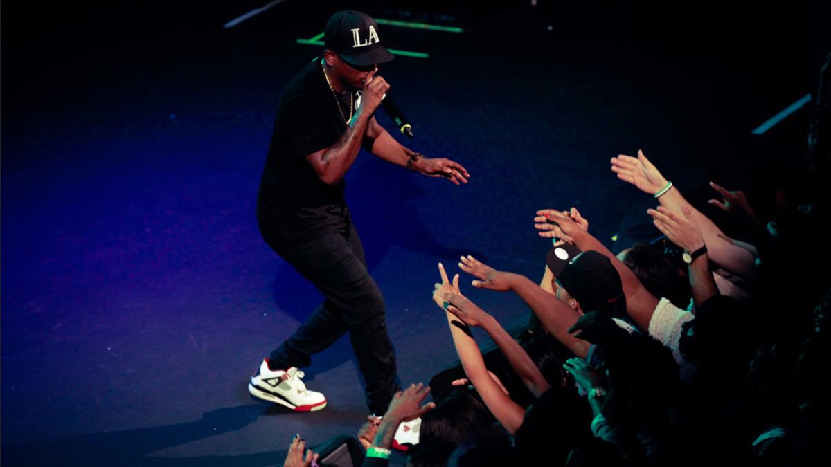 Kendrick Lamar in 2012