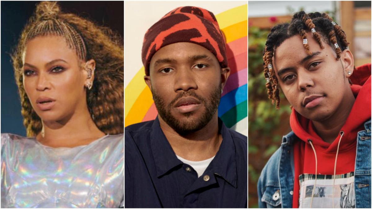 Beyonce, Frank Ocean, YBN Cordae, 2019