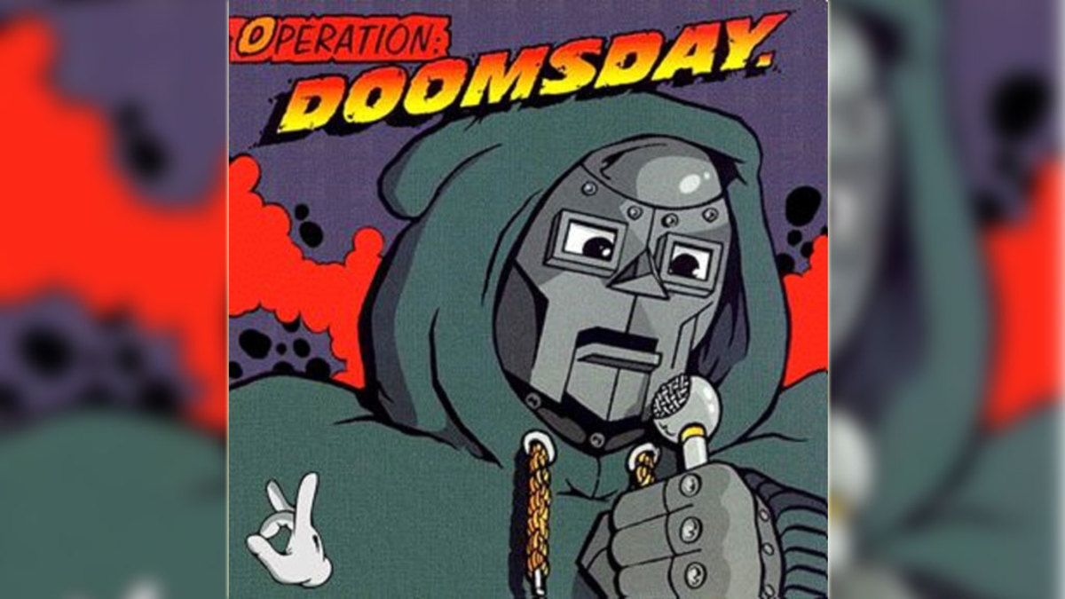 MF DOOM 'Operation: Doomsday' album cover
