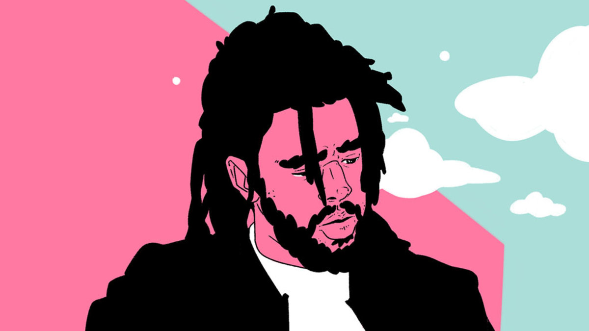 J. Cole illustration, 2019