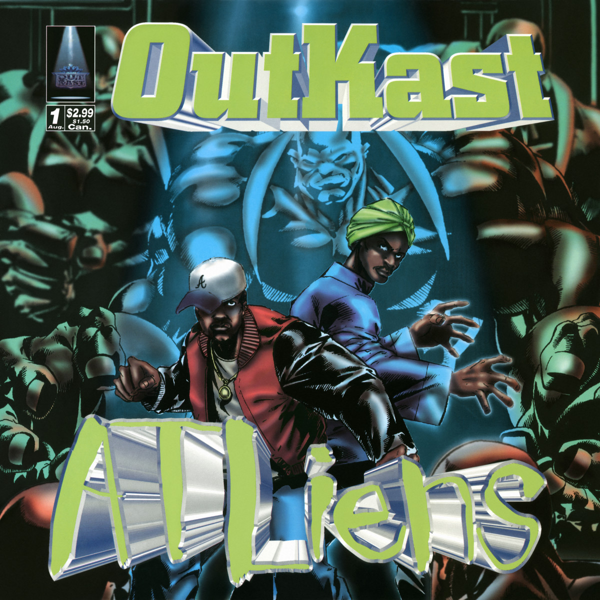 OutKast 'ATLiens' cover artwork