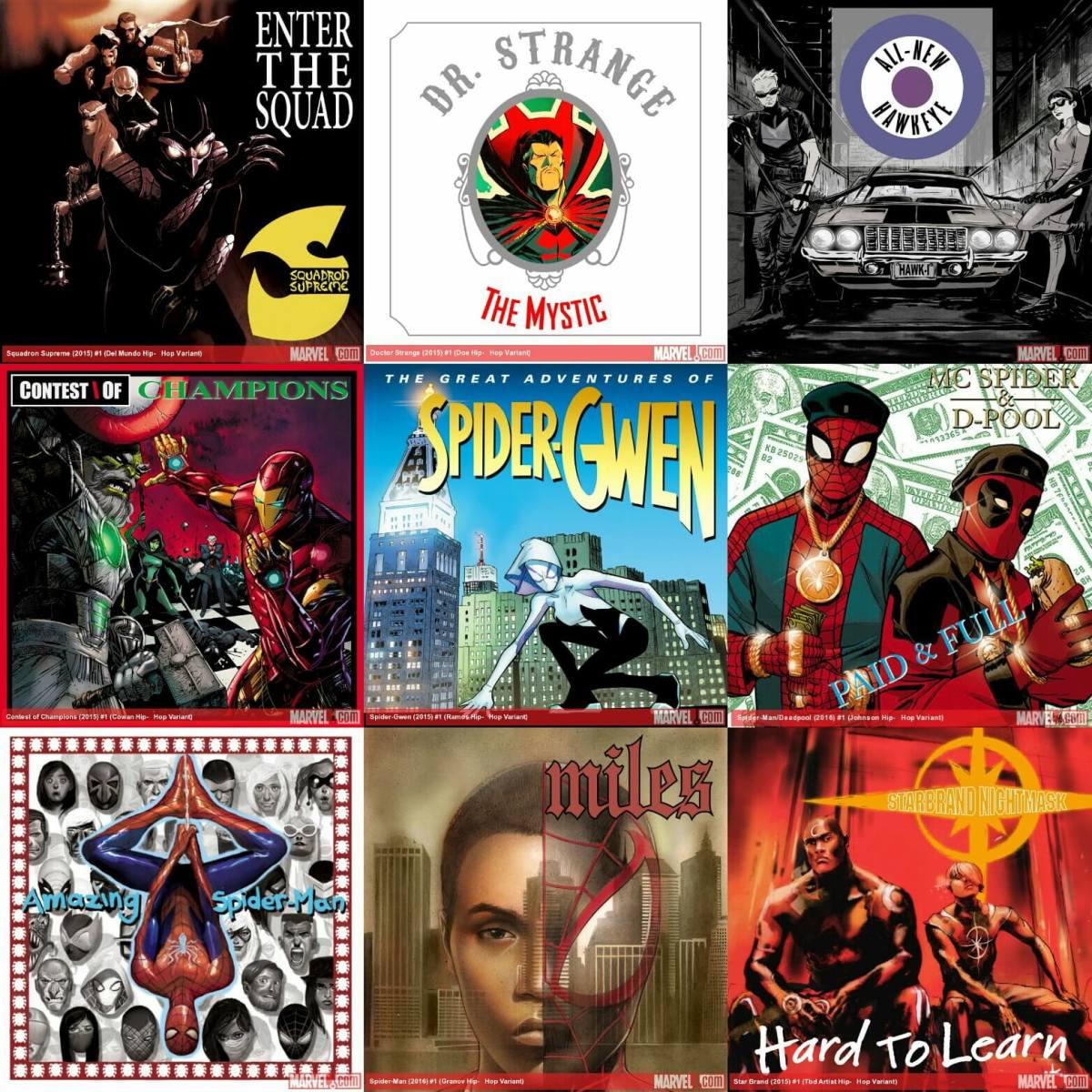 Marvel Hip Hop Variants, Season 1