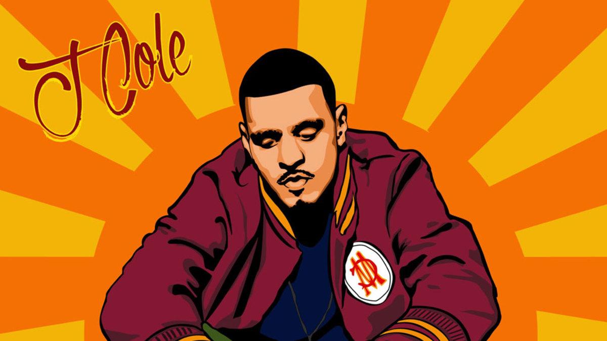 J. Cole artwork, illustration