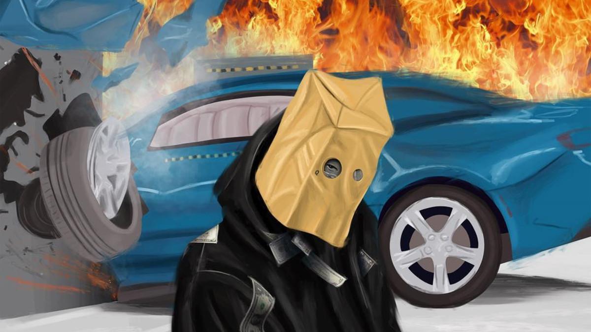 ScHoolboy Q Crash Talk Death artwork