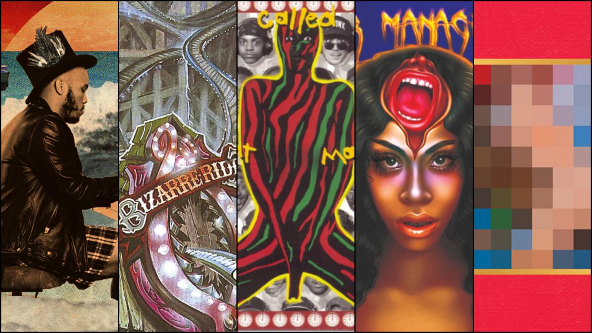 rap albums as amusement park rides