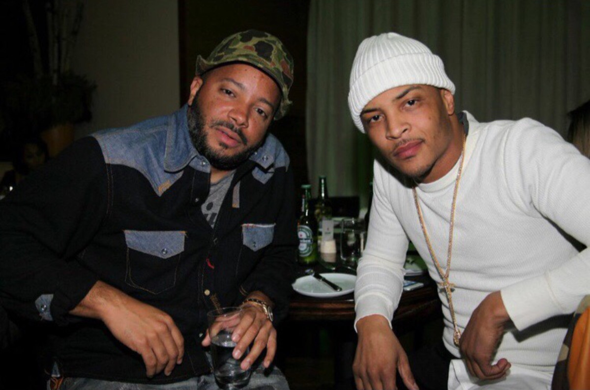 Jason Geter and T.I.