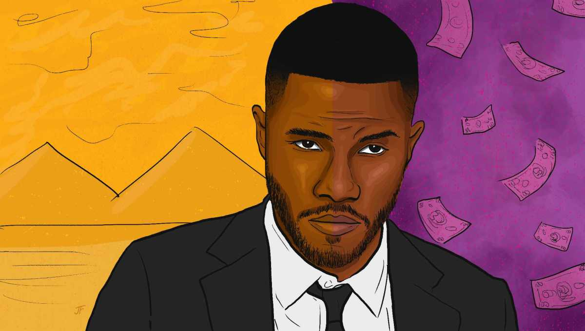 Frank Ocean, Pyramids, 2020, illustration, art