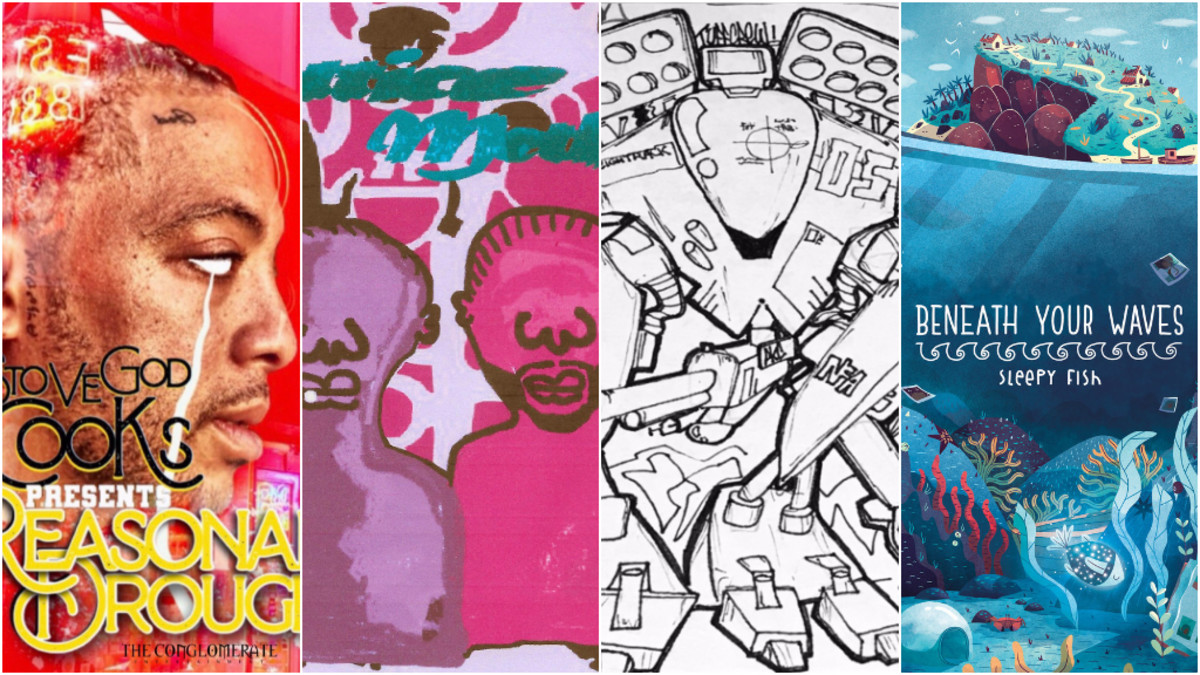 Lo-Fi Rap Snack Pack: Fly Anakin, Stove God Cooks, vektrx & Sleepy Fish