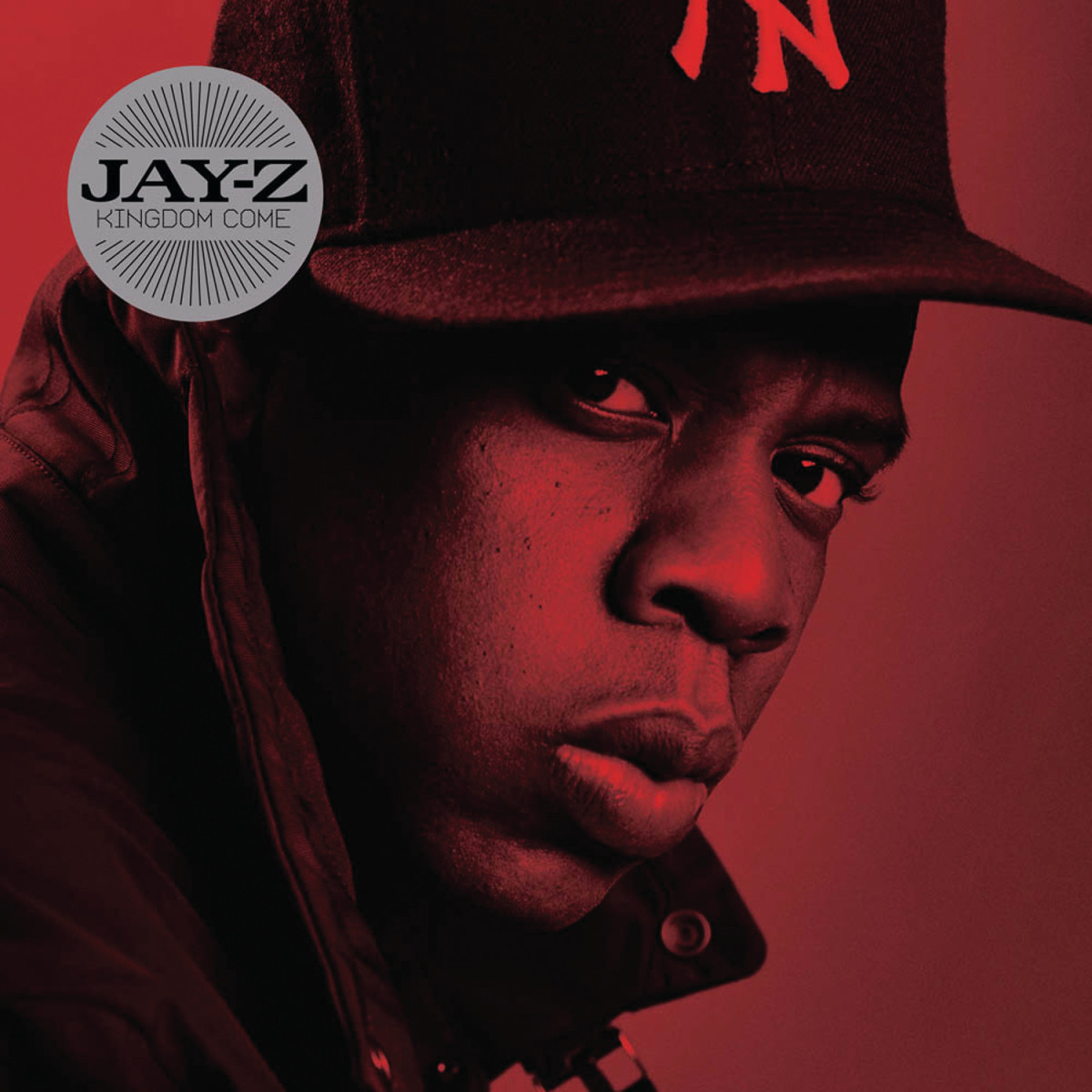 The cover to JAY-Z's Kingdom Come album